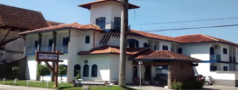 Fachada Hotel Porfo Fino Ubatuba
